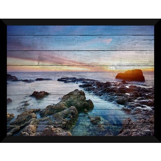 Sunset Splendor 2 Giclee Wood Wall Decor