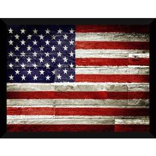 Usa' Giclee Wood Wall Decor