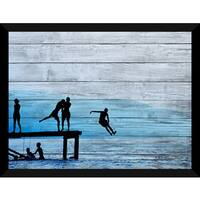 Blues Giclee Wood Wall Decor