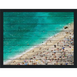 Beach Please Xiii' Giclee Wood Wall Decor