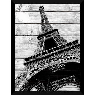Elena Elisseeva 'Eiffel Tower, Paris' Giclee Wood Wall Decor