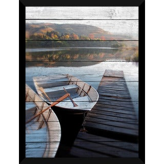 Calm Waters' Giclee Wood Wall Decor