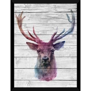 Oh Deer 2' Giclee Wood Wall Decor