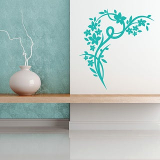 Blossom Corner Wall Decal Vinyl Art Home Decor (More options available)