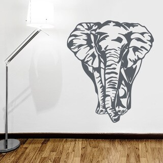 Big Elephant Wall Decal Vinyl Art Home Decor