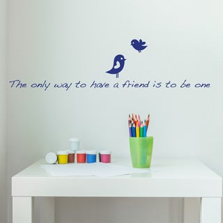 Only Way Wall Decal Vinyl Art Home Decor Quotes and Sayings