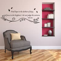 Hope Wall Decal Vinyl Art Home Decor Quotes and Sayings