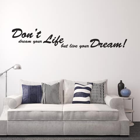 Dreams Wall Decal Vinyl Art Home Decor Quotes and Sayings