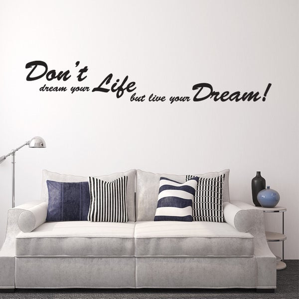 Shop Dreams Wall Decal Vinyl Art Home Decor Quotes And Sayings On