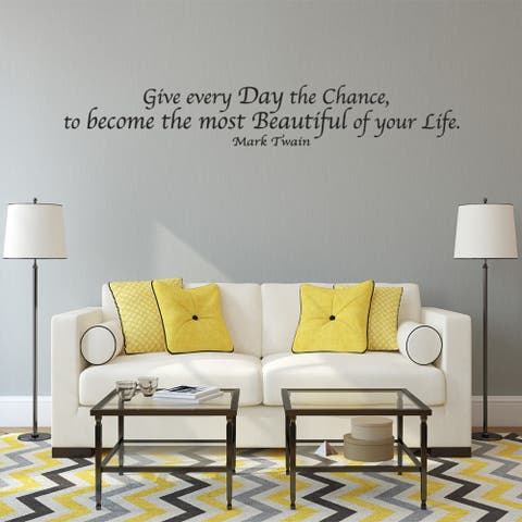 Day of Your Life Wall Decal Vinyl Art Home Decor Quotes and Sayings