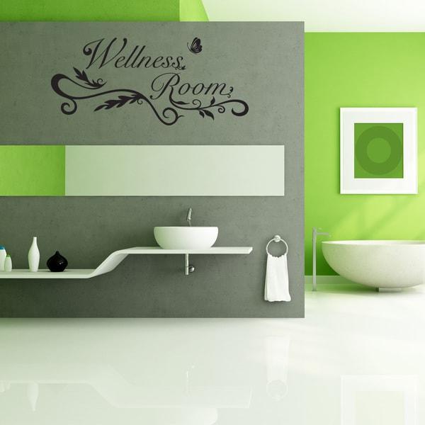 Wellness Room Wall Decal Vinyl Art Home Decor