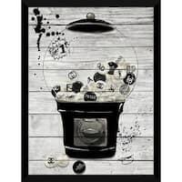 BY Jodi 'Bubblicious In Black' Giclee Wood Wall Decor