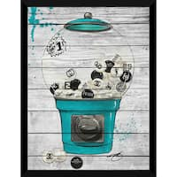 BY Jodi 'Bubblicious In Blue' Giclee Wood Wall Decor