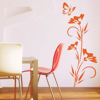 Lonely Butterfly Wall Decal Vinyl Art Home Decor