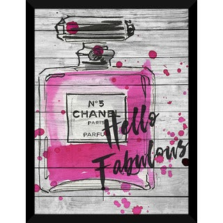 BY Jodi 'Fabulous Chanel' Giclee Wood Wall Decor