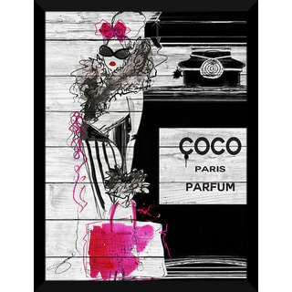 BY Jodi 'Go Coco' Giclee Wood Wall Decor