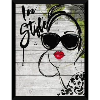 BY Jodi 'In Style' Giclee Wood Wall Decor