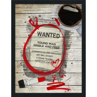 BY Jodi 'Wanted 2' Giclee Wood Wall Decor