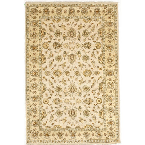 Shop Hand-knotted With Agra Design Area Rug