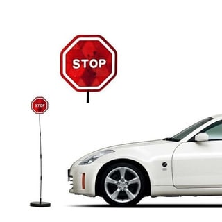 ParkEZ LED Garage Parking Assistant Stop Sign Sensor