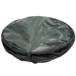 Wakeman Outdoors Pop Up 33 Gallon Camping Garbage Can Trash Bin