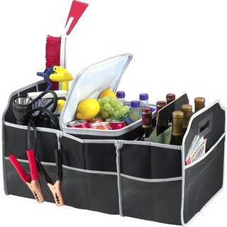 2 in 1 Trunk Organizer and Cooler Set