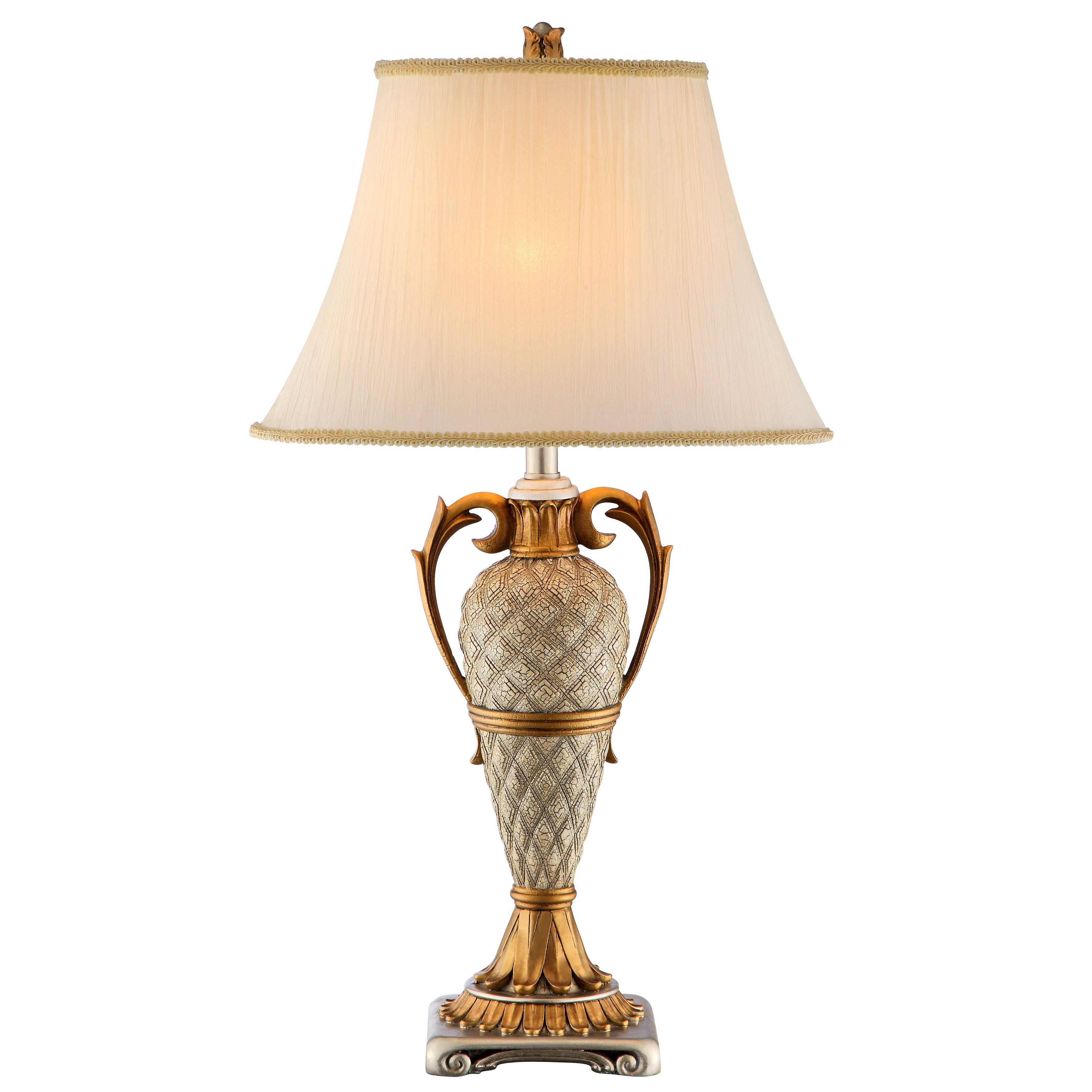 ELK LIGHTING Clarion Table Lamp (Silver and Gold) (Metal)