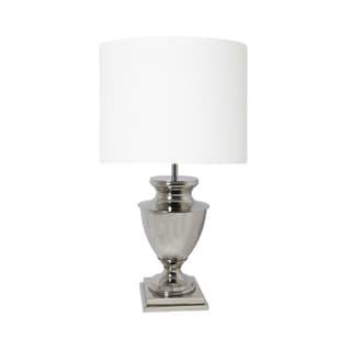Urban Designs Mandy 37-Inch Tall Urn Nickel Table Lamp