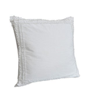 Nostalgia Home Neveah White European Square Sham