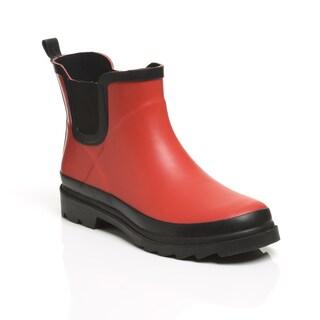Unsensored Women's Waterproof Slip-On Bootie