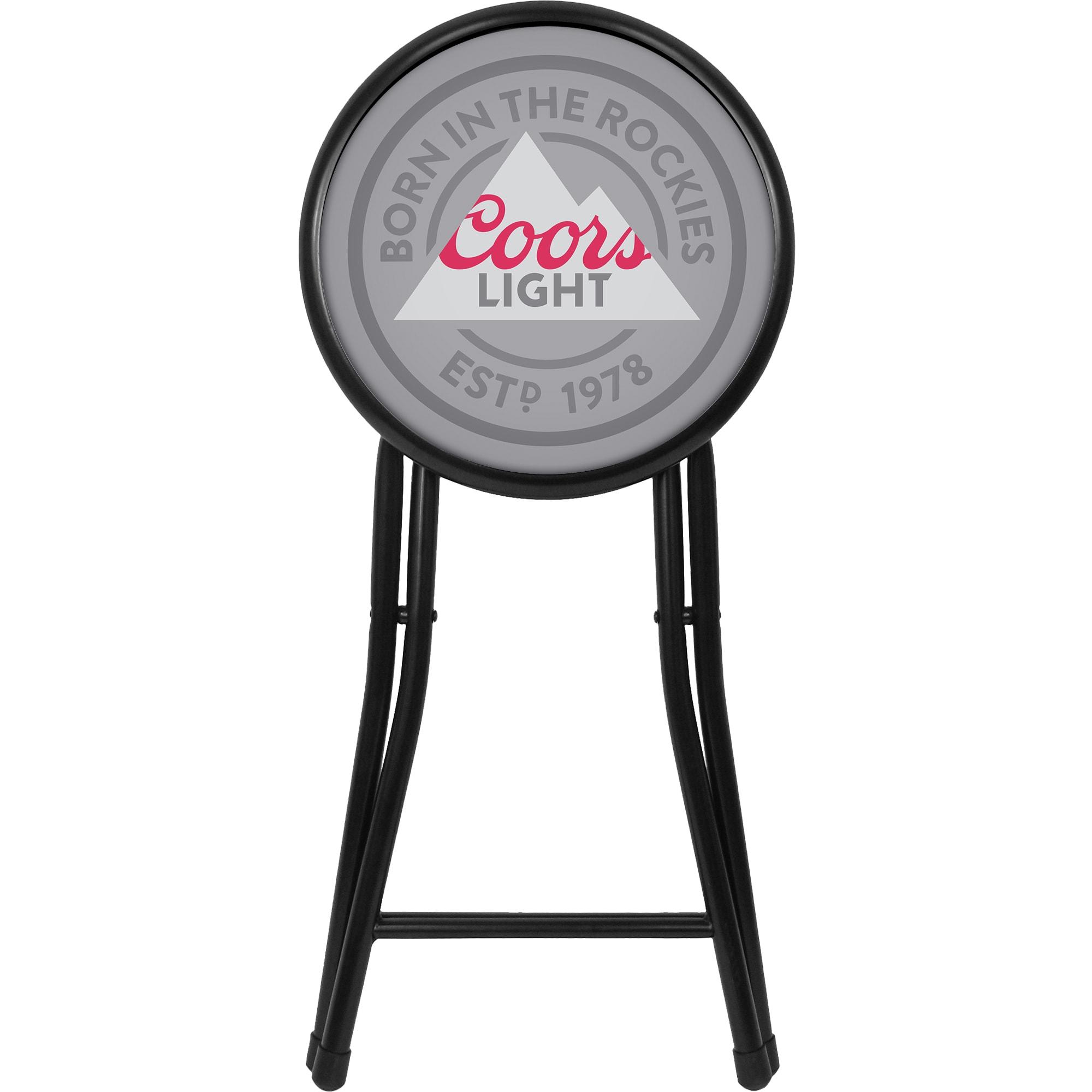 Trademark Coors Light 18-inch Folding Stool (18 Inch Fold...
