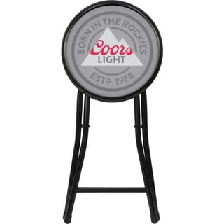 Coors Light 18-inch Folding Stool