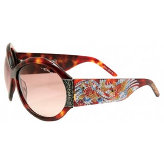 Ed Hardy EHS-002 Koi Fish Tortoise/ Brown Sunglasses