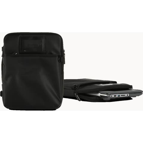 """Max Cases Zip Sleeve 14"""" Case with Strap (Black)"""