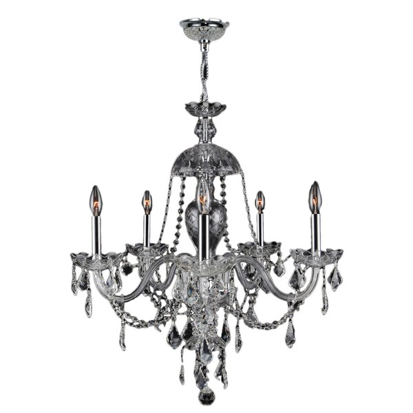 Love The Wall Finishes Chandelier And The Overall Tuscan: Shop Venetian Italian Style 7-light Chrome Finish Crystal