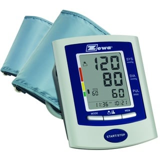 Zewa Deluxe Automatic Blood Pressure Monitor with 2 Cuffs