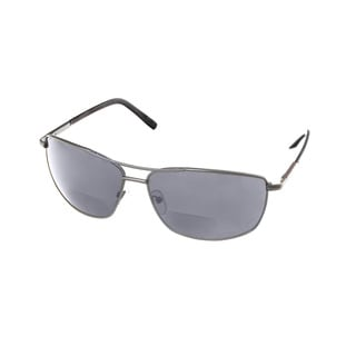 Hot Optix Men's SR19226 Square Aviator Sunglass Readers