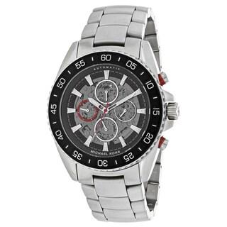 Michael Kors Men's MK9011 Jetmaster Round silver Bracelet Watch