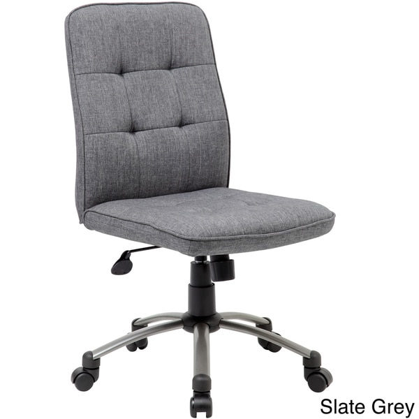 Boss Fabric Modern Ergonomic Office Chair Free Shipping Today - Grey office chair