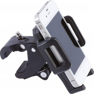 Diamond Plate Adjustable Motorcycle/ Bicycle Phone Mount