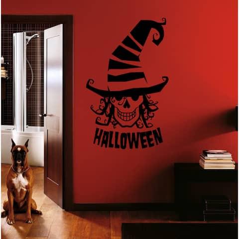 Halloween witch Wall Art Sticker Decal