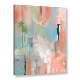 Jan Weiss's 'Desert Living 1' Gallery Wrapped Canvas