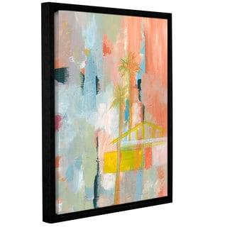 Jan Weiss's 'Desert Living 3' Gallery Wrapped Floater-framed Canvas