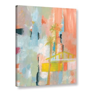 Jan Weiss's 'Desert Living 3' Gallery Wrapped Canvas