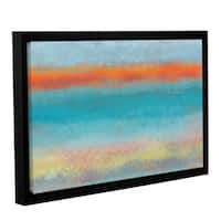 Jan Weiss's 'Outer Limits 2' Gallery Wrapped Floater-framed Canvas - Multi