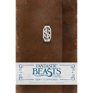 Fantastic Beasts and Where to Find Them Newt Scamander Hardcover Ruled Journal (Notebook / blank book)