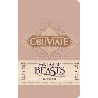 Fantastic Beasts and Where to Find Them Ruled Notebook 1 (Notebook / blank book)