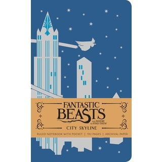 Fantastic Beasts and Where to Find Them Ruled Notebook 2 (Notebook / blank book)