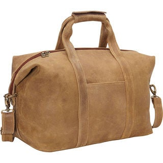 LeDonne Leather Dikro Getaway 21-inch Carry-on Duffel Bag