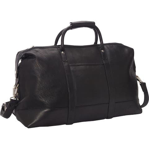 LeDonne Leather Vaqueta 24-inch Classic Duffel Bag